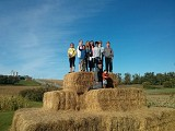 On Our Corn Maze Adventure